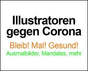 Link zu Illustratoren gegen Corona