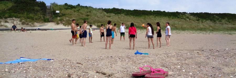 Jugendliche, Workshop, Strand